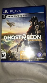 Tom Clancy ghost recon PS4 game