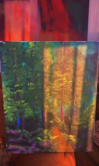 Forest painting Foxboro, 02035