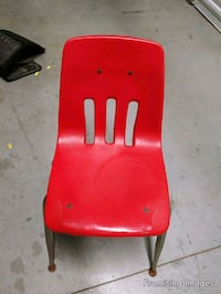 School chair Red