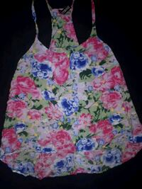 Small floral tank top  Simcoe