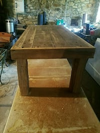 Hand made rustic oak coffee table Zionsville, 18092