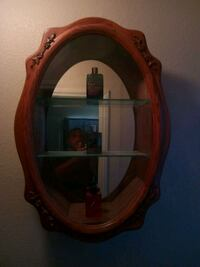 brown wooden framed wall mirror Las Vegas, 89110