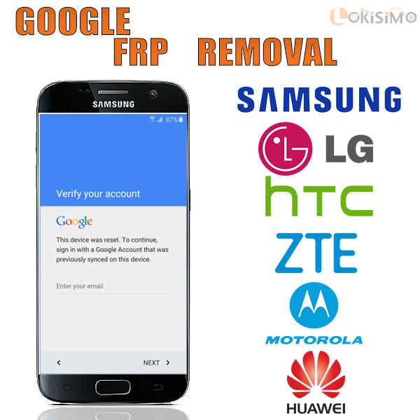 FRP OR BYPASS GOOGLE ACCOUNT - GMAIL ACCOUNT - SAMSUNG ACCOUNT