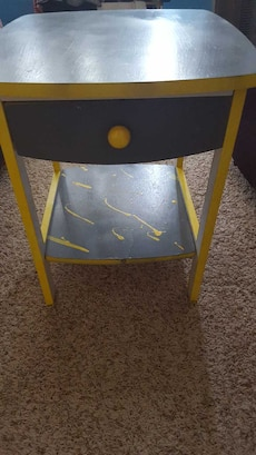 Hand painted cute night stand