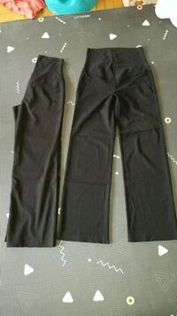 2 pairs of maternity work pants size small Toronto, M3H 1T9