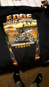 3 t shirts and 1 long sleeve harley davidson mens wear  Edmonton, T5X 1V8