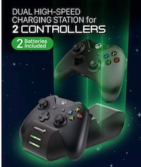 Xbox one controller charging station and rechargeable batterie Markham, L6E 0R2