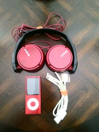 Apple ipod Nano and Sony headphones
