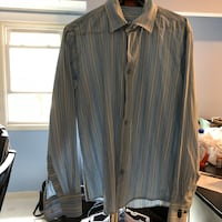 women's black and gray striped dress shirt East Providence, 02916