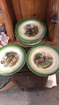 collectable. deer plates Greenwich, 12834