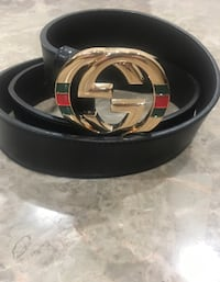 black and gray Gucci belt Sterling Heights, 48310