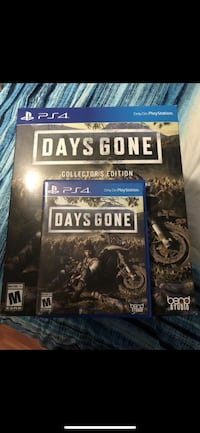 Days Gone Collecters Edition  Los Angeles, 90063