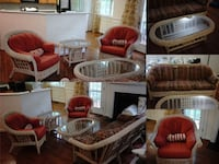 red and white living room set Oakton, 22124