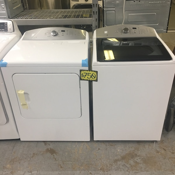 New! Kenmore Top Load Washer And Dryer Set
