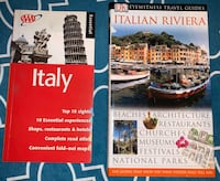 2 Brand new Italy travel guide paperback books