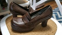 Brown Leather Maurices Pumps Ralston, 68127