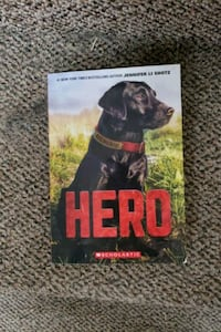 A book about a black lab.