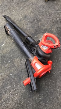 Red and black troy-bilt leaf blower Londonderry, 03053