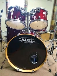 MAPEX MERRIDIAN MAPLE DRUMS Felton, 19943
