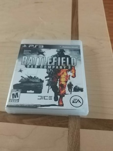 Battlefield Bad Company 2 Sony PS3 game case