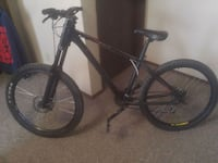 black and red hardtail mountain bike Red Deer, T4N 4S3