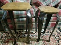 Matching Designer Metal and Wood Stands Cranberry Township