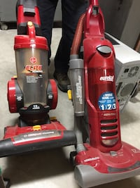 two red Dirt Devil upright vacuum cleaners Riverbank, 95367
