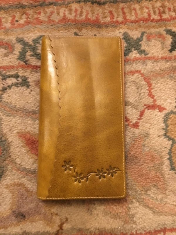 The jewellery shop wallet brand new tan colour