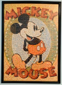 19x27 Mickey Mouse Framed Puzzle