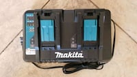 New Makita 18V LXT Lithium-Ion Dual Port Rapid Optimum Battery Charger