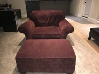 Chair and a 1/2 and Ottoman from Valley Direct Furniture  Surrey, V4N 3M9