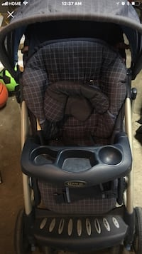 baby's gray and black Graco stroller Calgary, T2Z 1X6