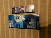 Oral b toothbrush with 3 extra heads  3745 km