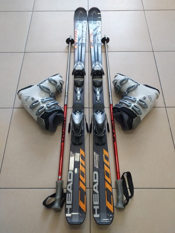 HEAD KAYAK TAKIMI FULL SET 149 cm 24.5 mondo b25cc422-d249-472e-b155-03a489b26443
