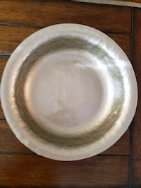 15w x 3h gold/silvery German bowl for display