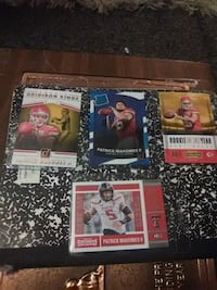 Patrick Mahomes rookie cards lot of 4 hot hot 706 mi