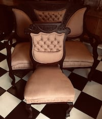 Antique 19th Century French Art Nouveau Settee & Chair. Tampa, 33625