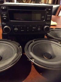 Factory stereo and speakers