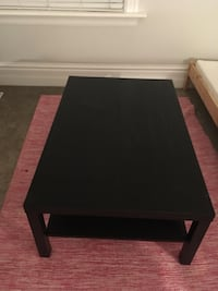 Rectangular black wooden coffee table Guelph, N1H 2P6