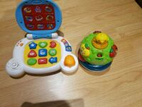 baby's three assorted learning toys Montréal, H2Y 1B6