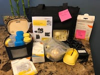 Medela pump in style with extras- make an offer, I need it gone ASAP.  Edmonton, T5T 6X9