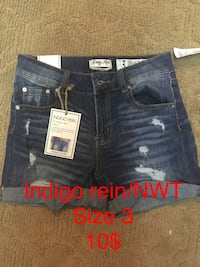 blue and red denim short shorts Chillicothe, 45601