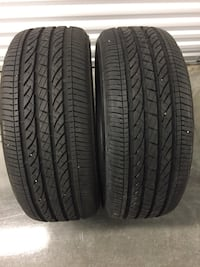 245 50 19 run flat pair of tires bridgestone  Manassas, 20110