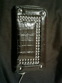 Black faux leather wallet Winnipeg, R3G 1X1