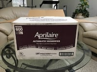 Aprilaire humidifier Model 600 CENTREVILLE