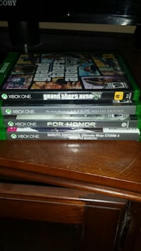 assorted Xbox One games Clarksville, 37042