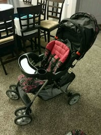 baby's black and pink stroller Chandler, 85225