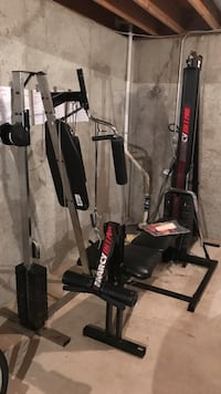 black and silver Marcy gym equipment Lockport, 60441