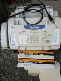 Brother Fax Machine with 2 New Cartridges  Vaughan, L4J 4P8