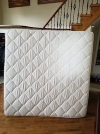 King Size Pillow top mattress, used 4 months Hamilton